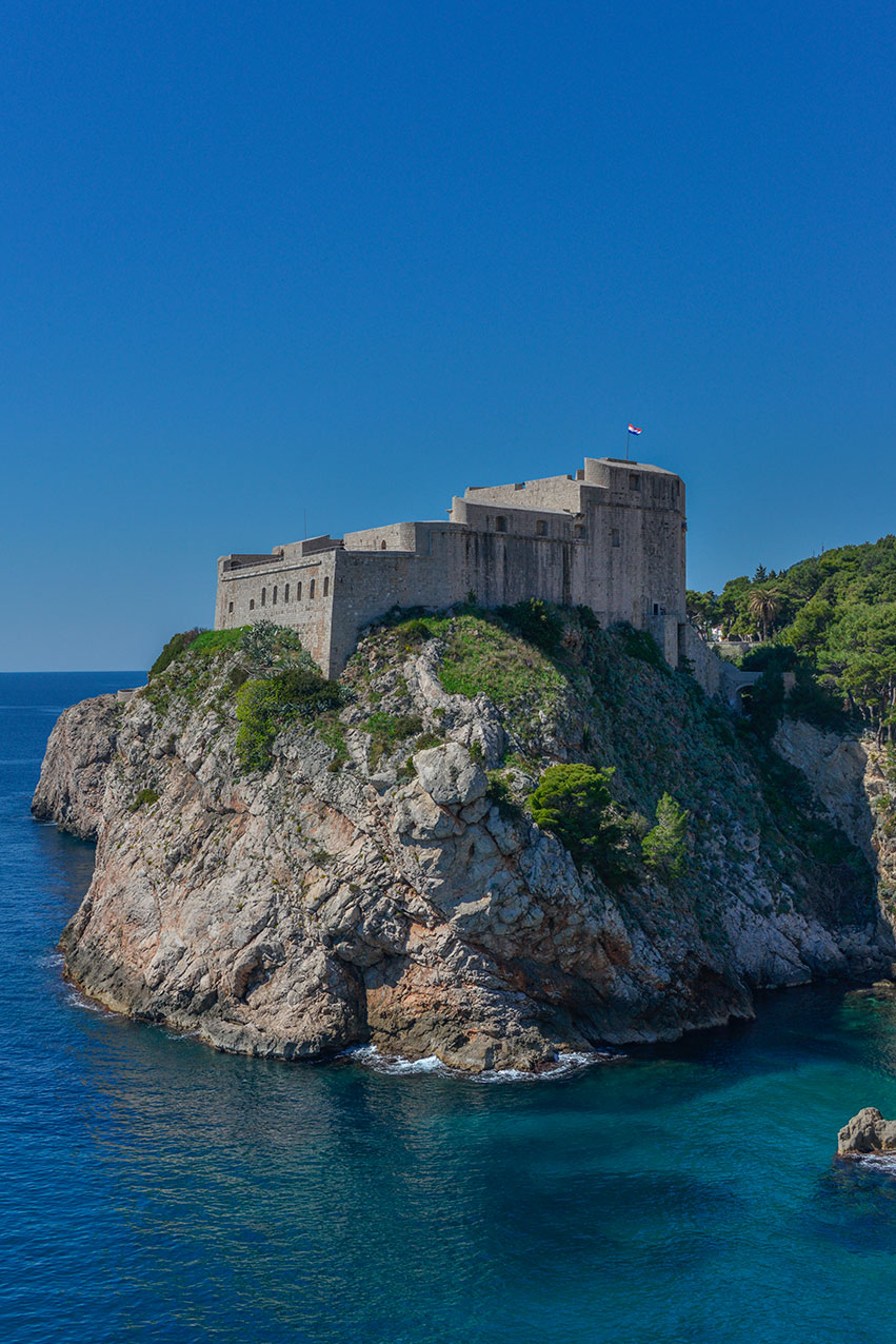 Fort St Lawrence, Dubrovnik