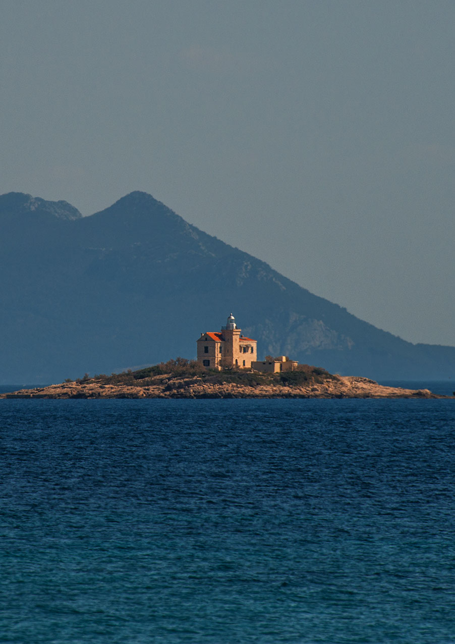 Small island off Orebic