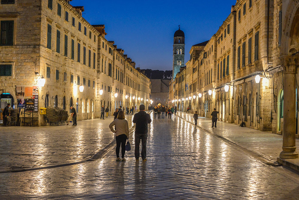 The Stradun, Dubrovnik