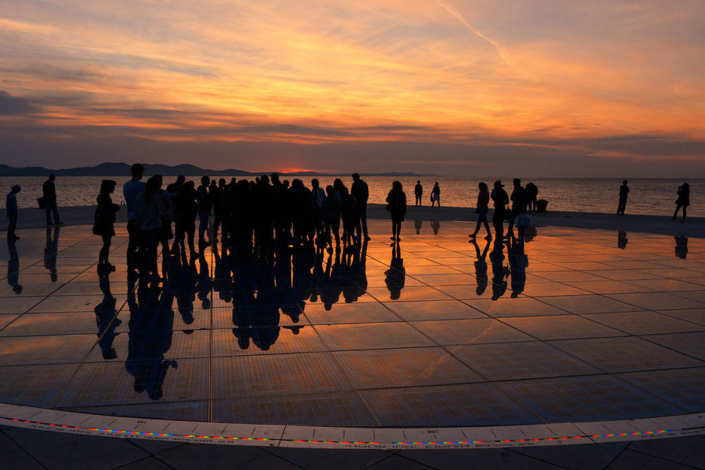 The Sun Salutation installation, Zadar