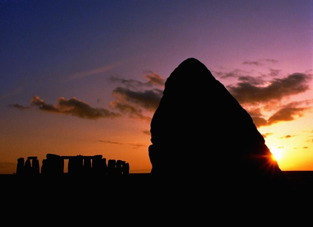 The Heel Stone, Stonehenge, Wiltshire.