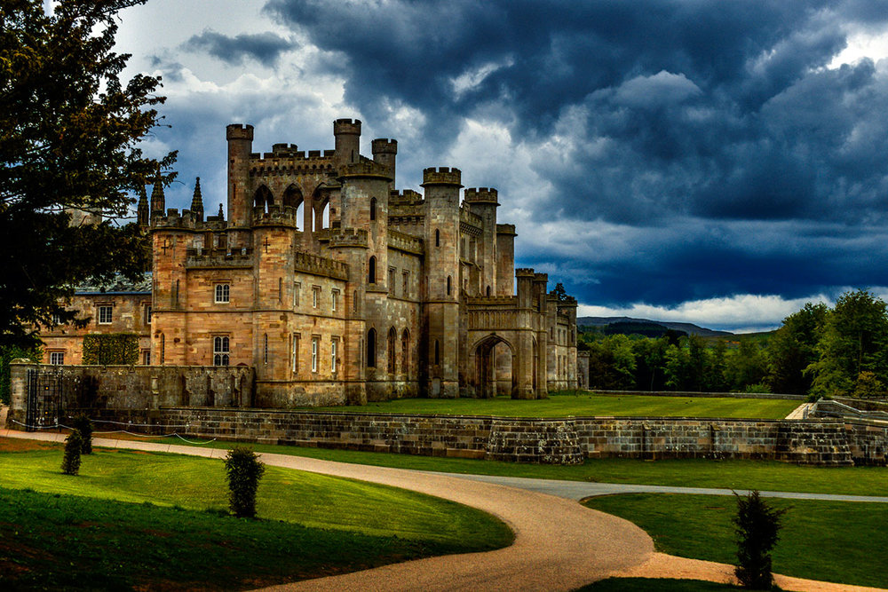 The ruins of Lowther Castle, Cumbria.