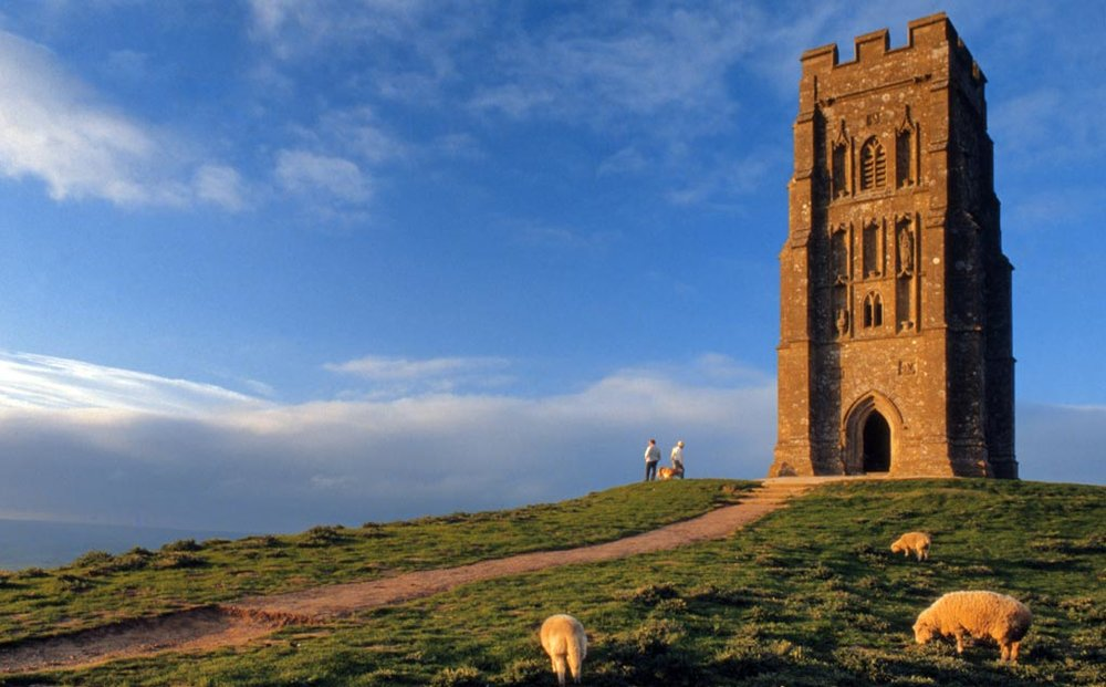 Tower of St Michael, Glastonbury Tor, Somerset.