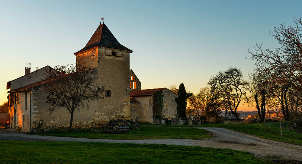 From Sarmazes, overlooking Cordes-sur-Ciel
