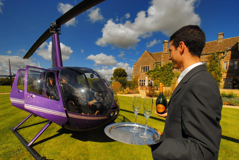 Russell Harrison Helicopters, Oxford, UK