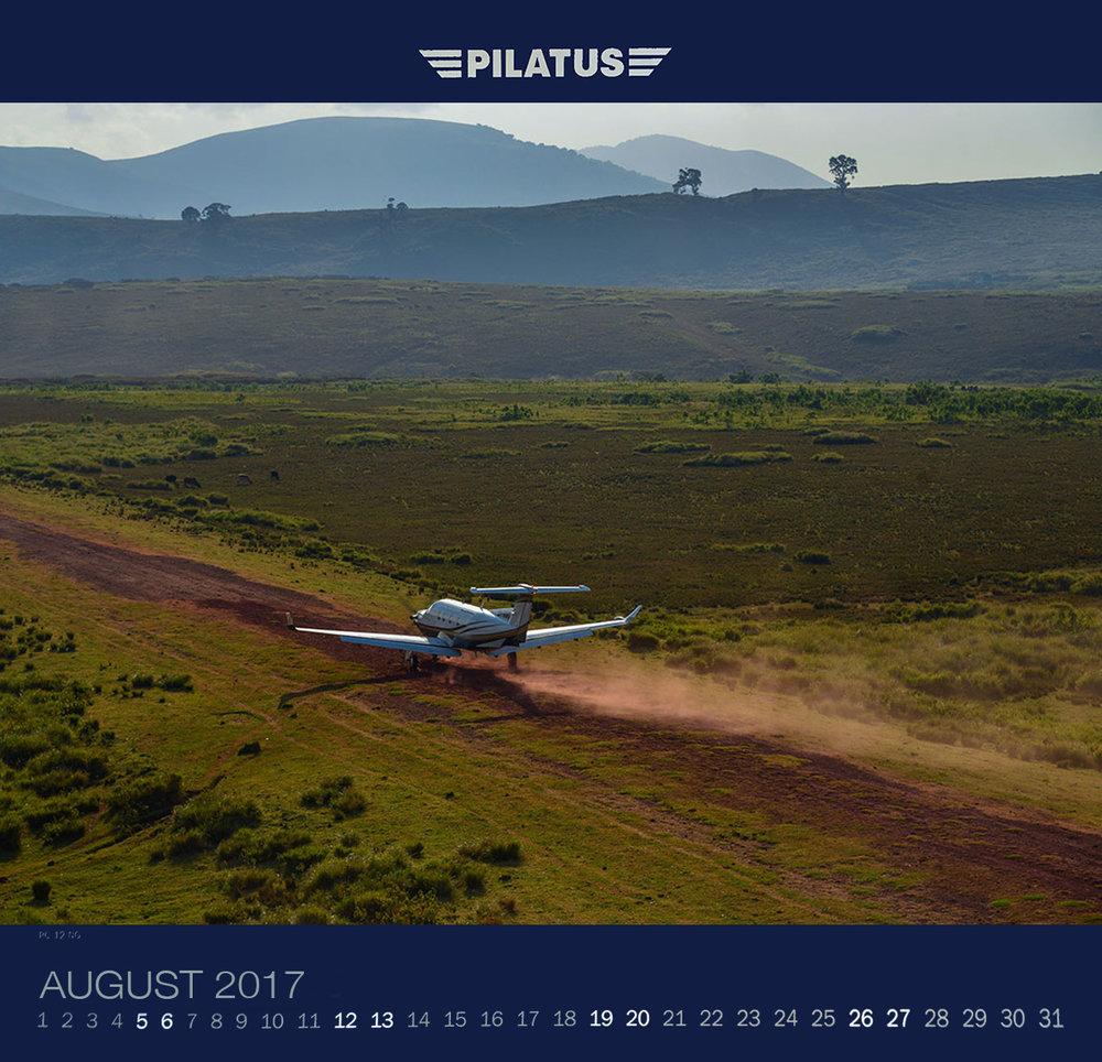 August 2017. PC12 in Ngorongoro crater airstrip, Tanzania.