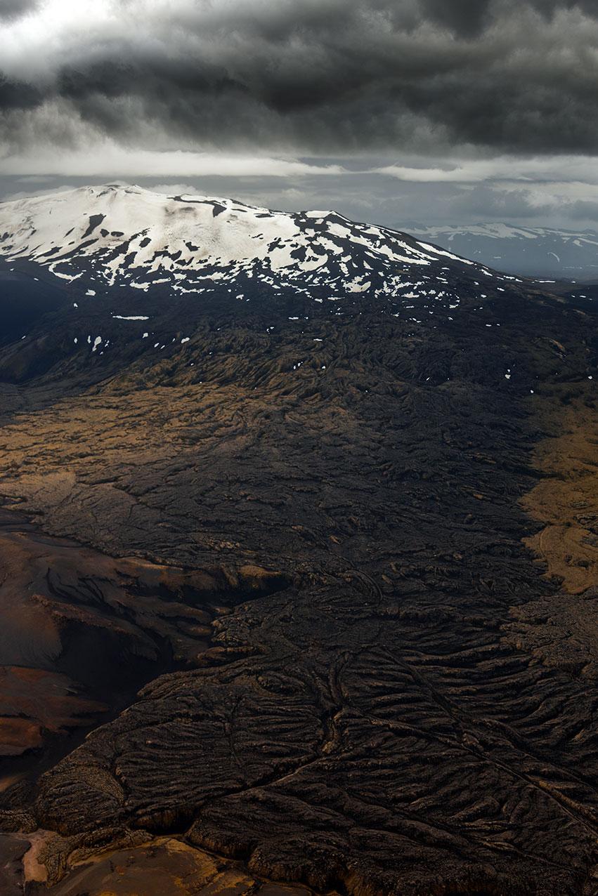 Mt Hekla lava flow, Iceland