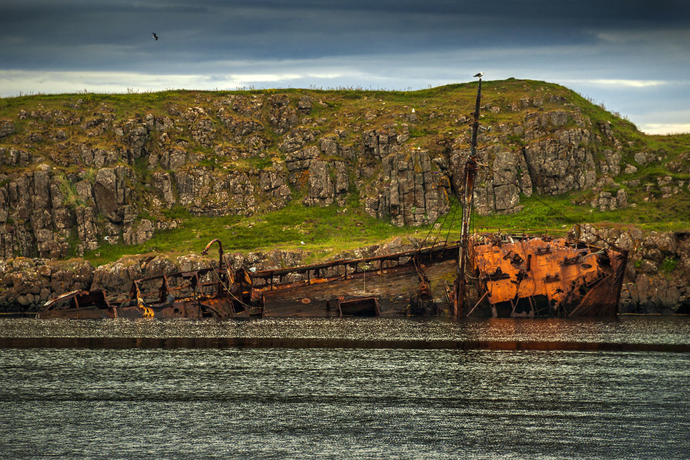 Shipwreck at Stykkisholmur