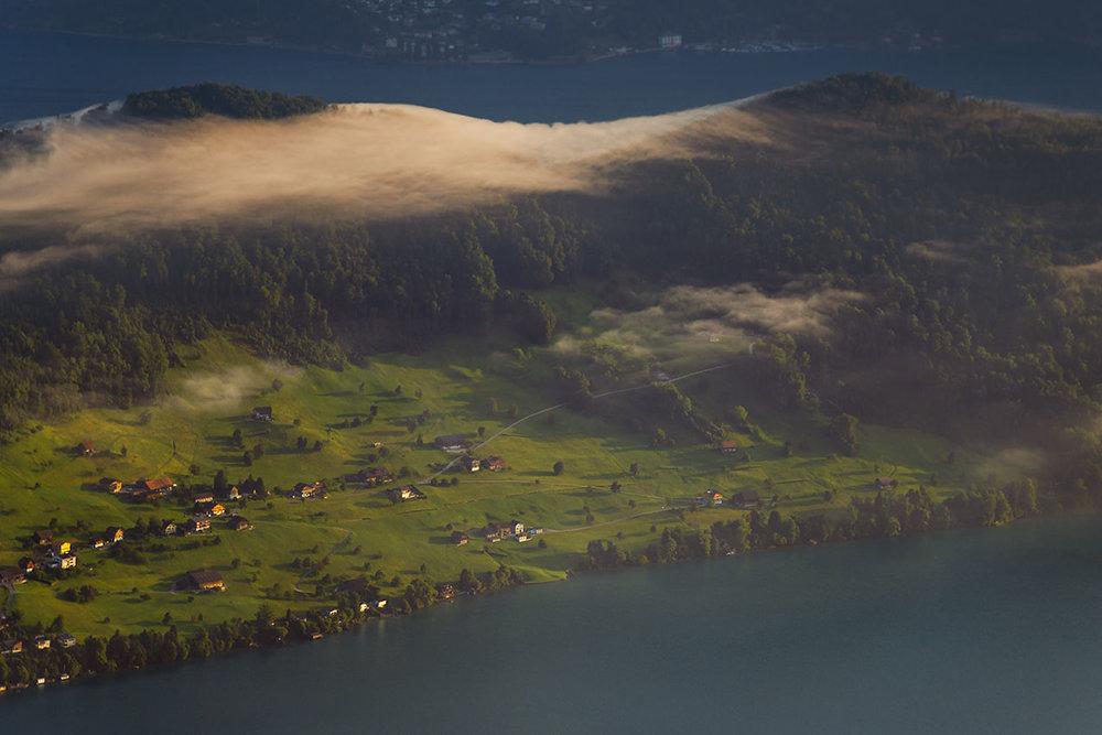 Lake Luzern, Switzerland