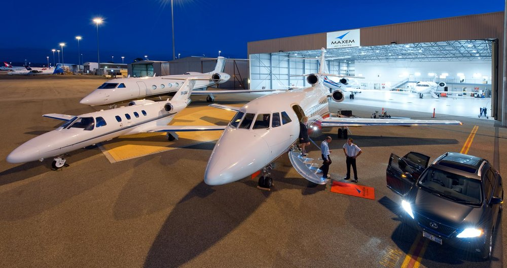 Maxem Aviation jet charter fleet