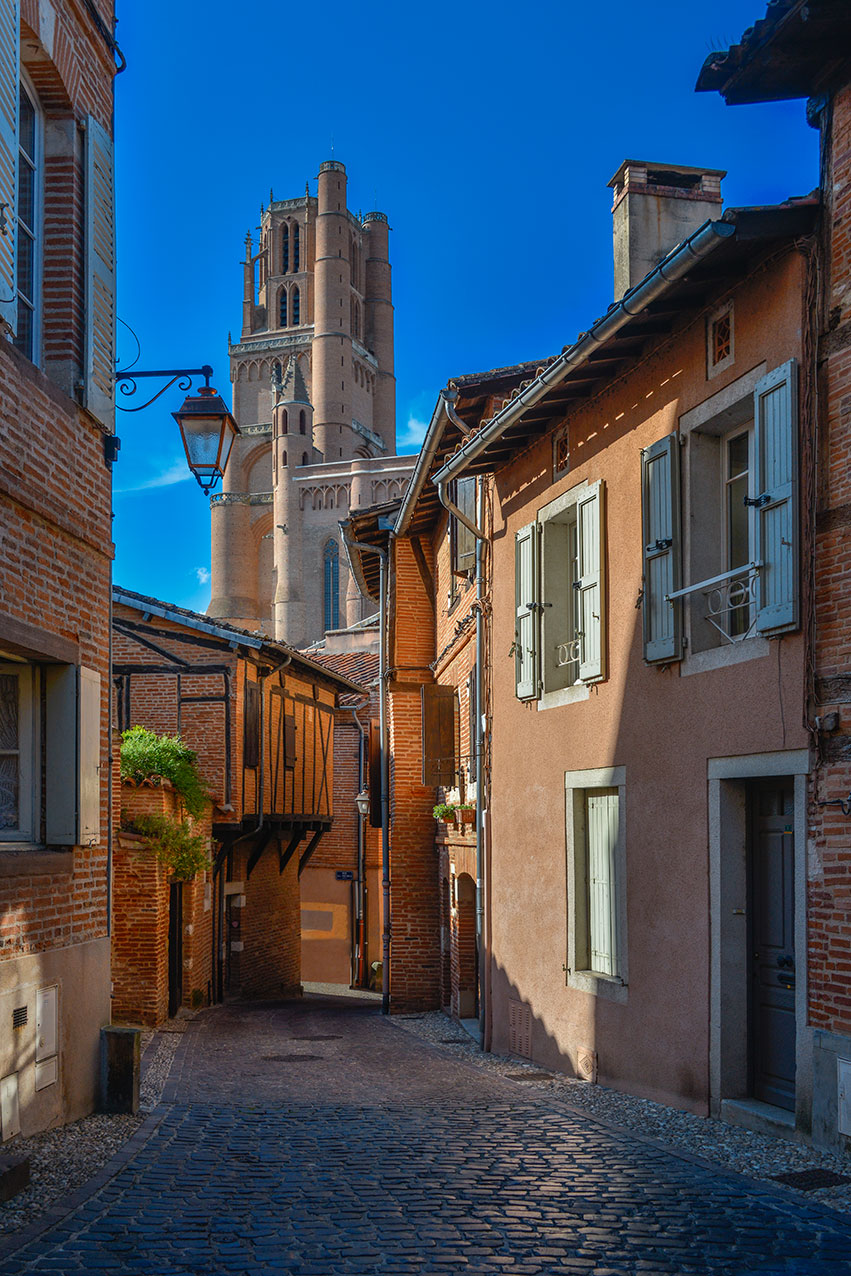 The old quarter and the cathedral, Albi