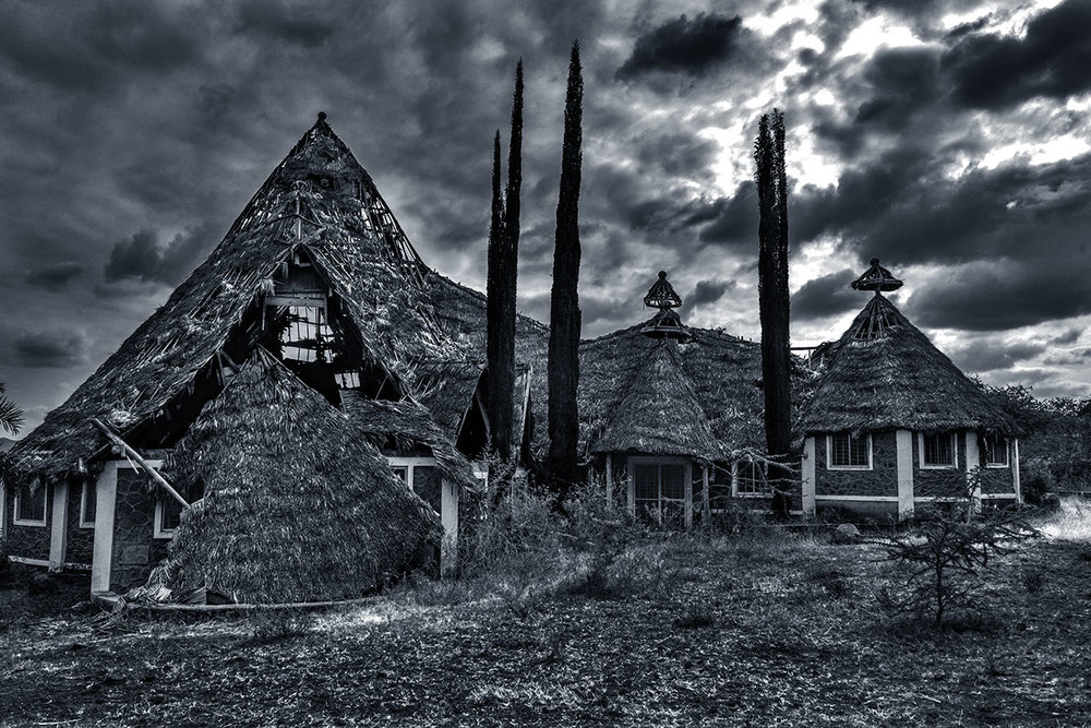 Abandoned resort, Manyara, Tanzania.