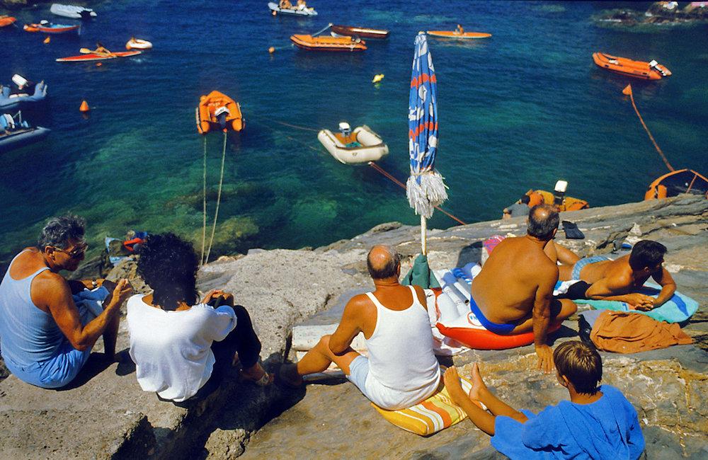 Summer in Riomaggiore, taken in 1985