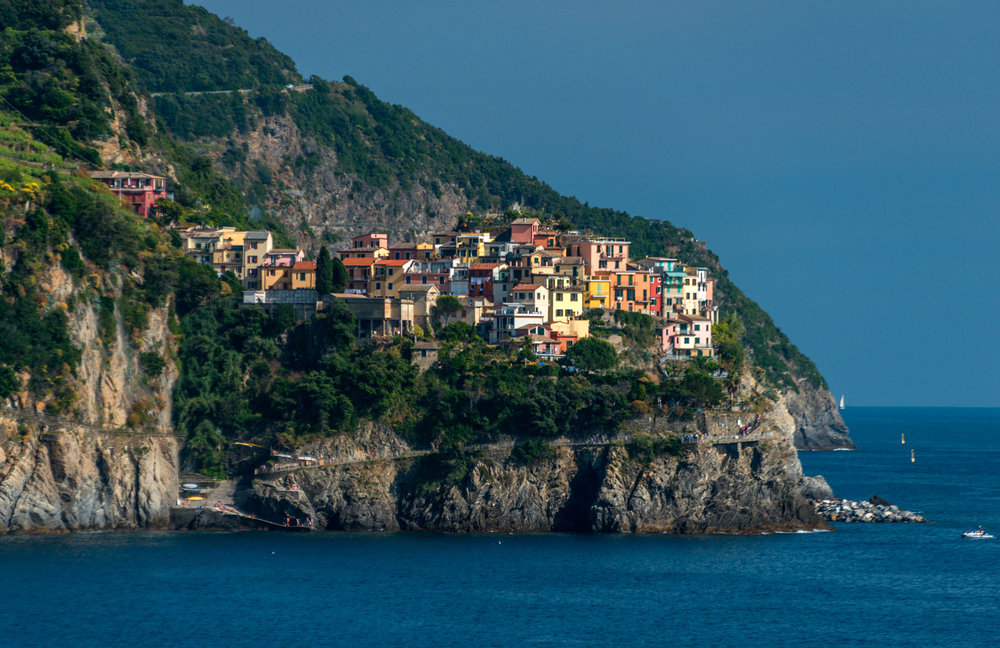 Manarola as seen from Corniglia