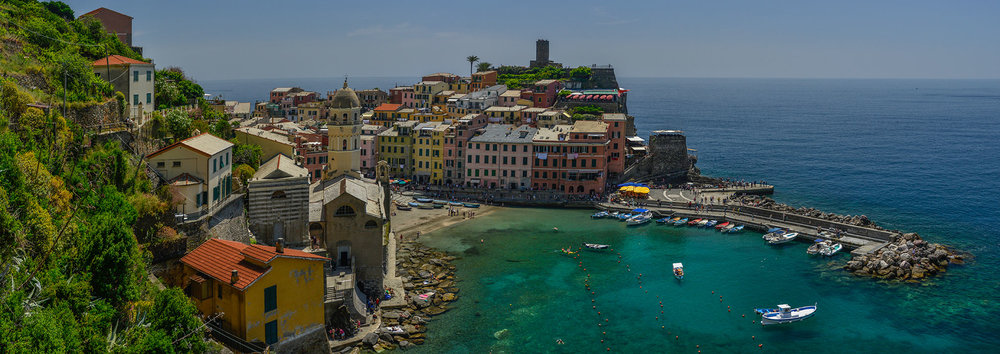 Panorama of Vernazza