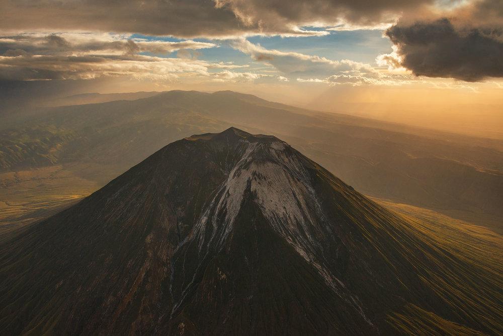 Oldoinyo Lengai volcano, Tanzania