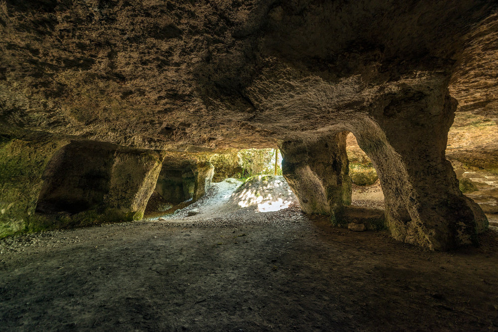 Grotte de la Mailhoulié, near Cordes-sur-Ciel, Occitanie, France