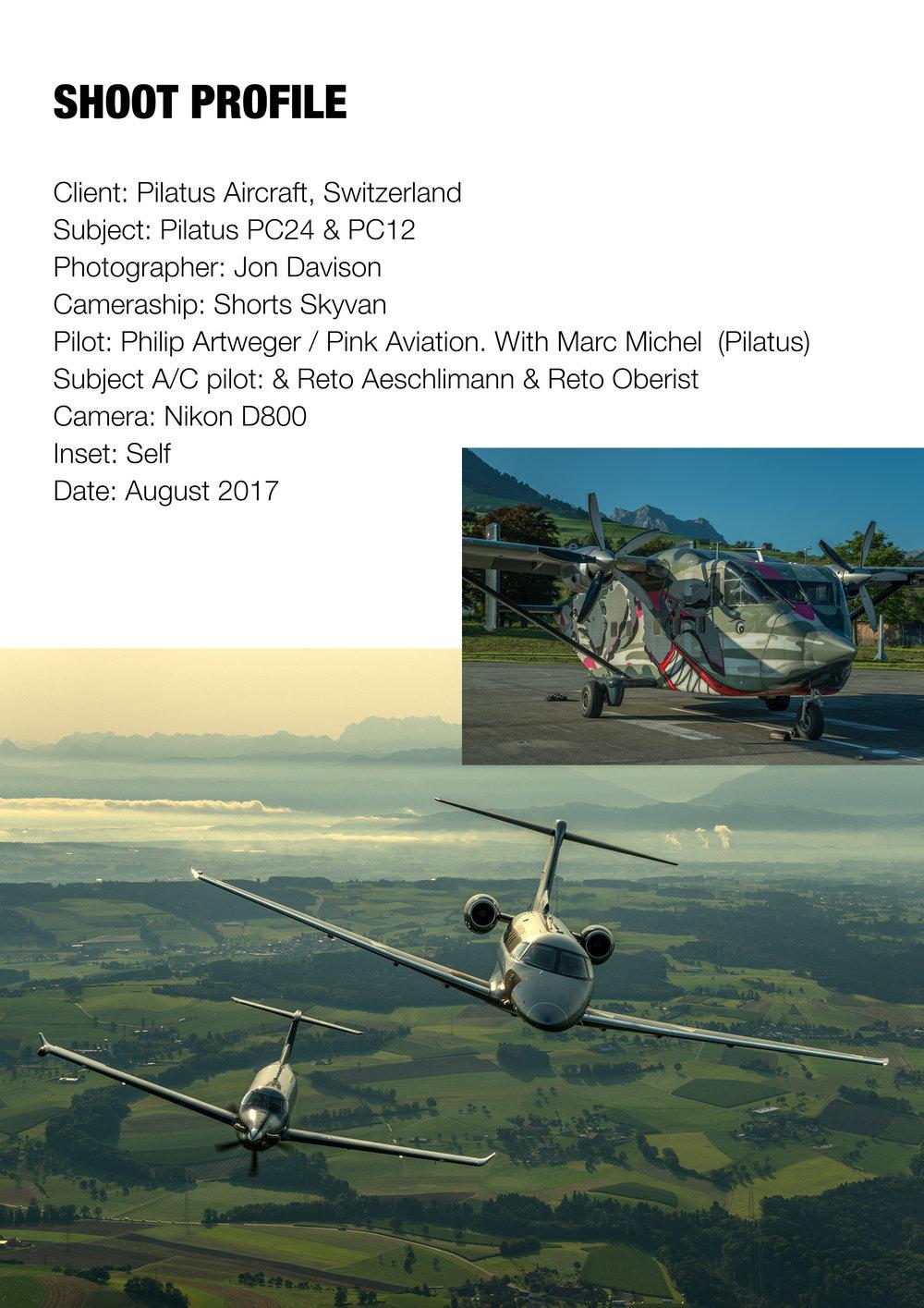 Pilatus PC12 and PC24, Switzerland