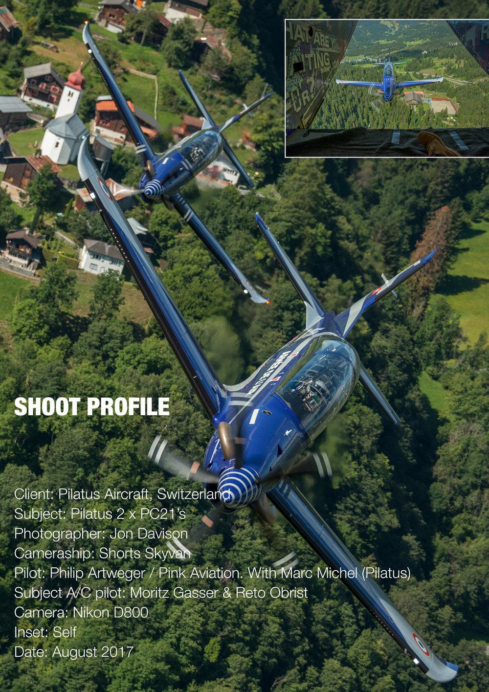 Pilatus PC21, Switzerland