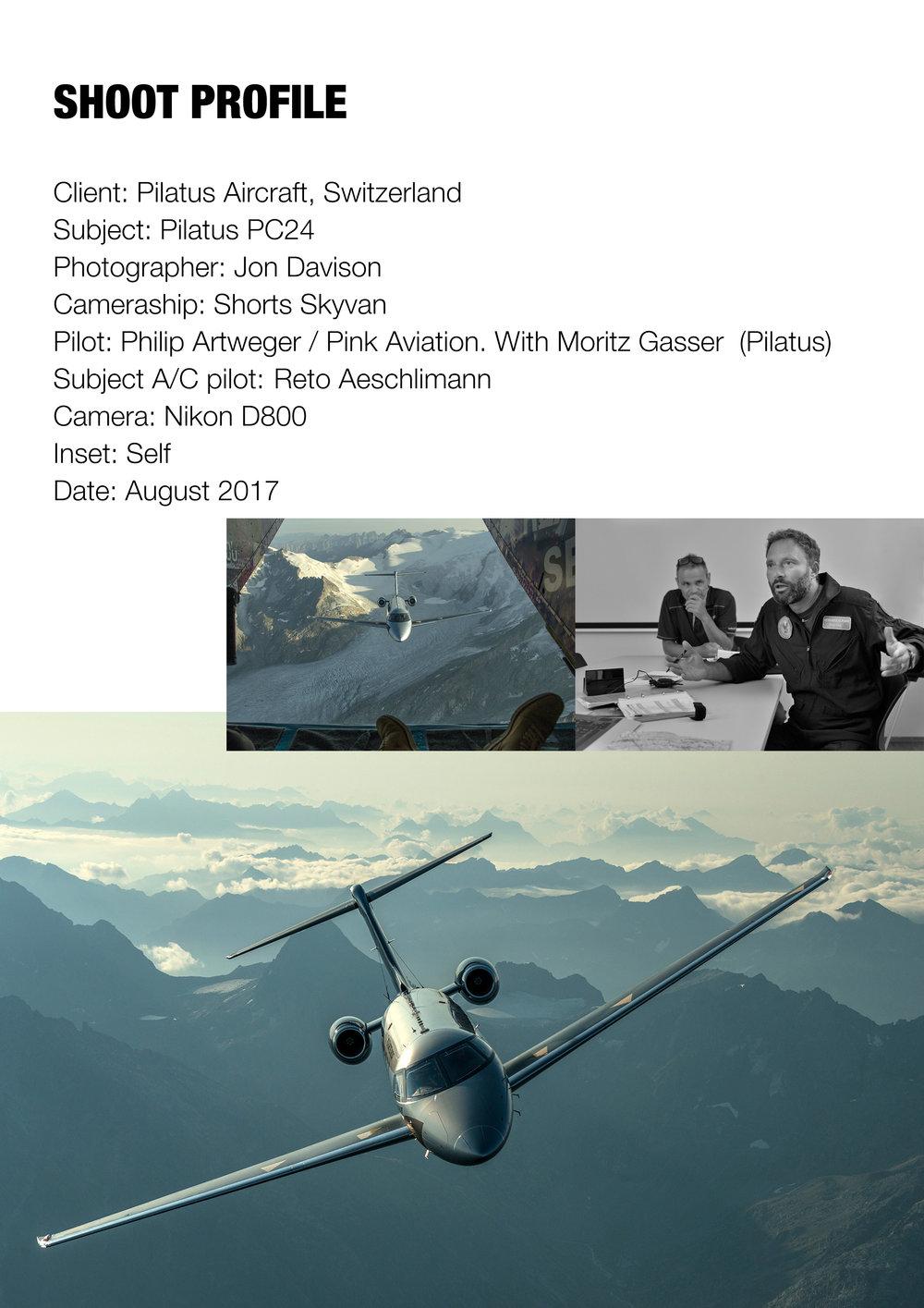 Pilatus PC24, Switzerland