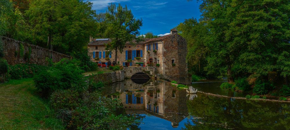 Moulin Cajarc, August