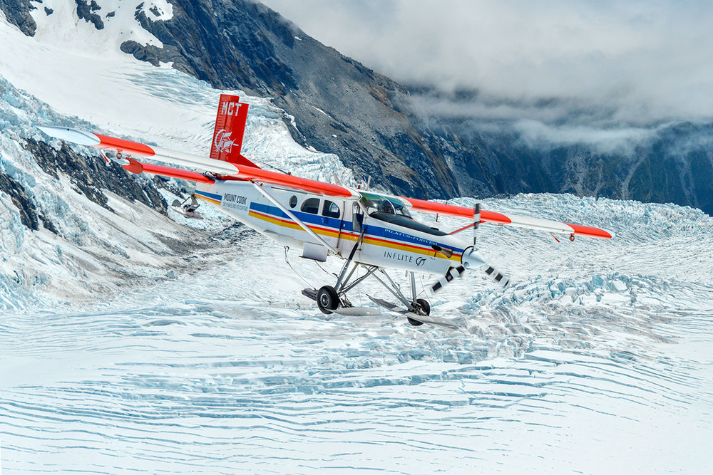 PILATUS PC6, MT COOK, NZ