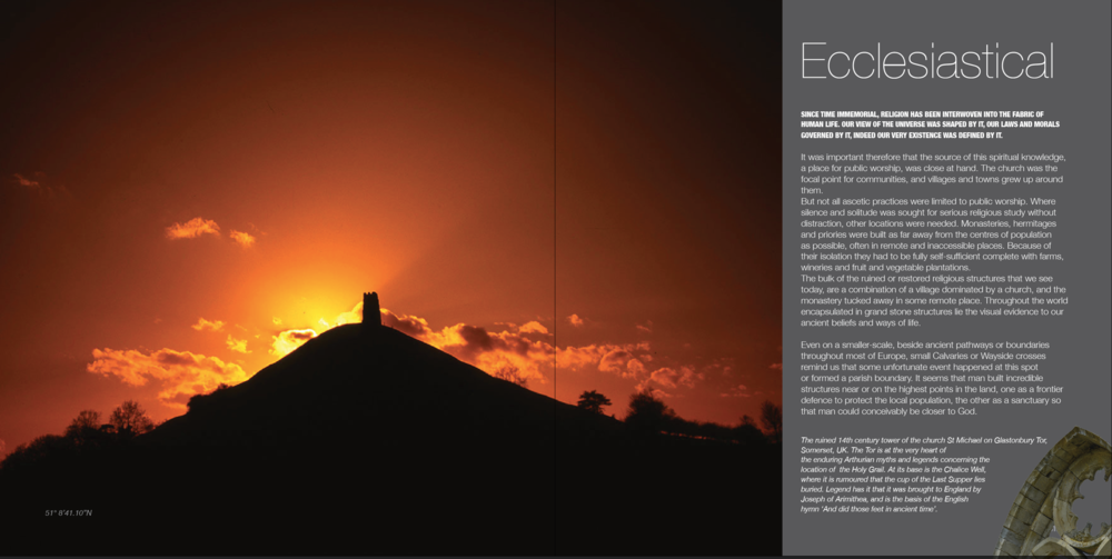 Ecclesiastical chapter intro spread