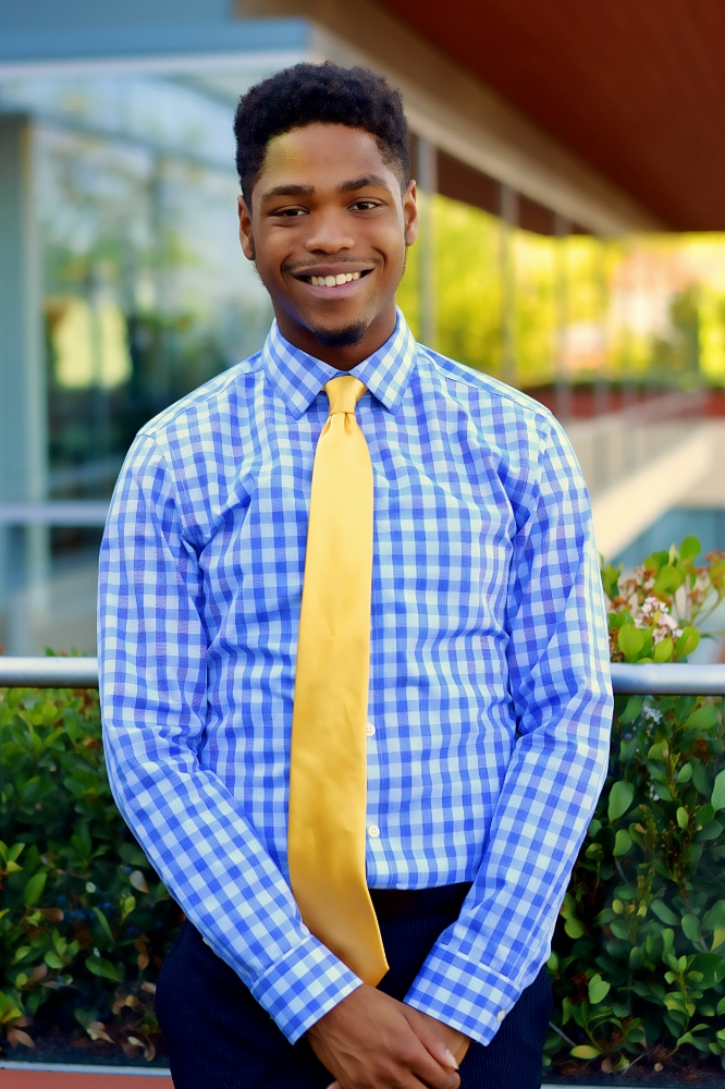 Quincy Brown '19, Events Commissioner