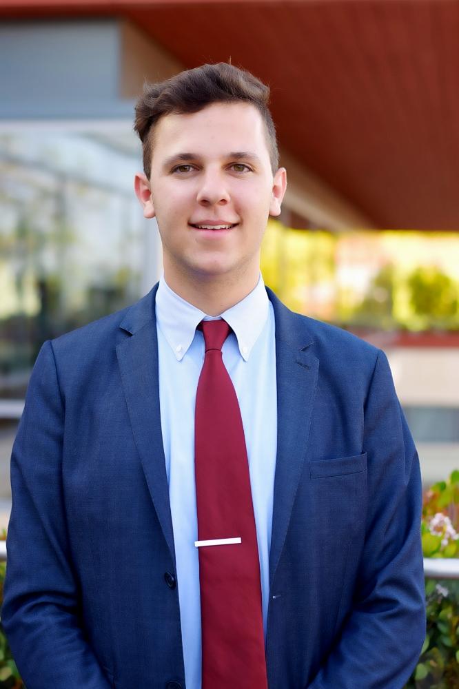 Thomas Schalke '18, President Pro Tempore