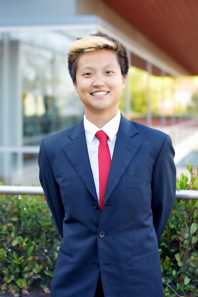 Joey Yamada '18, Class of 2018 President