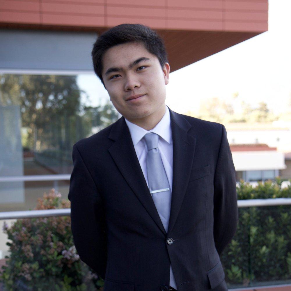 Sophomore Class President   Johnson Lin