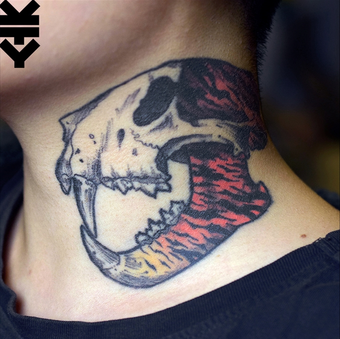 kreatyves_tattoo_Berlin_tiger_skull