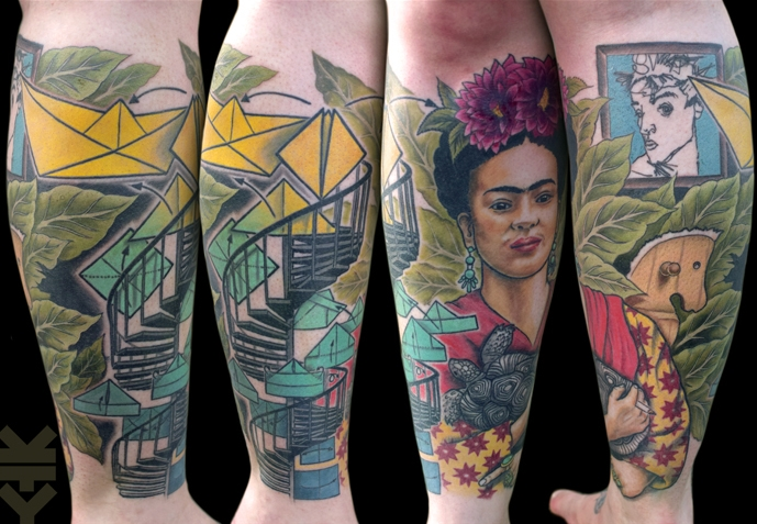 kreatyves_tattoo_Berlin_Frida_Kahlo