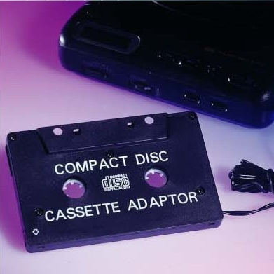 Car CD Cassette Adaptor
