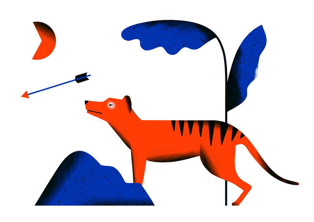 Tasmanian Tiger Dopple Press