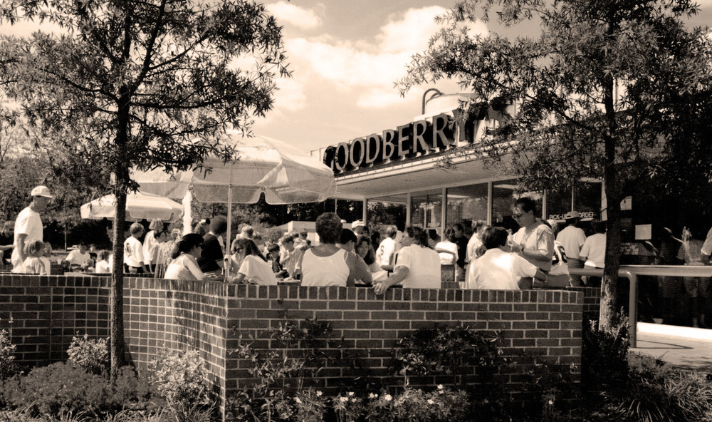 First Goodberry's Creamery - photo circa 1988