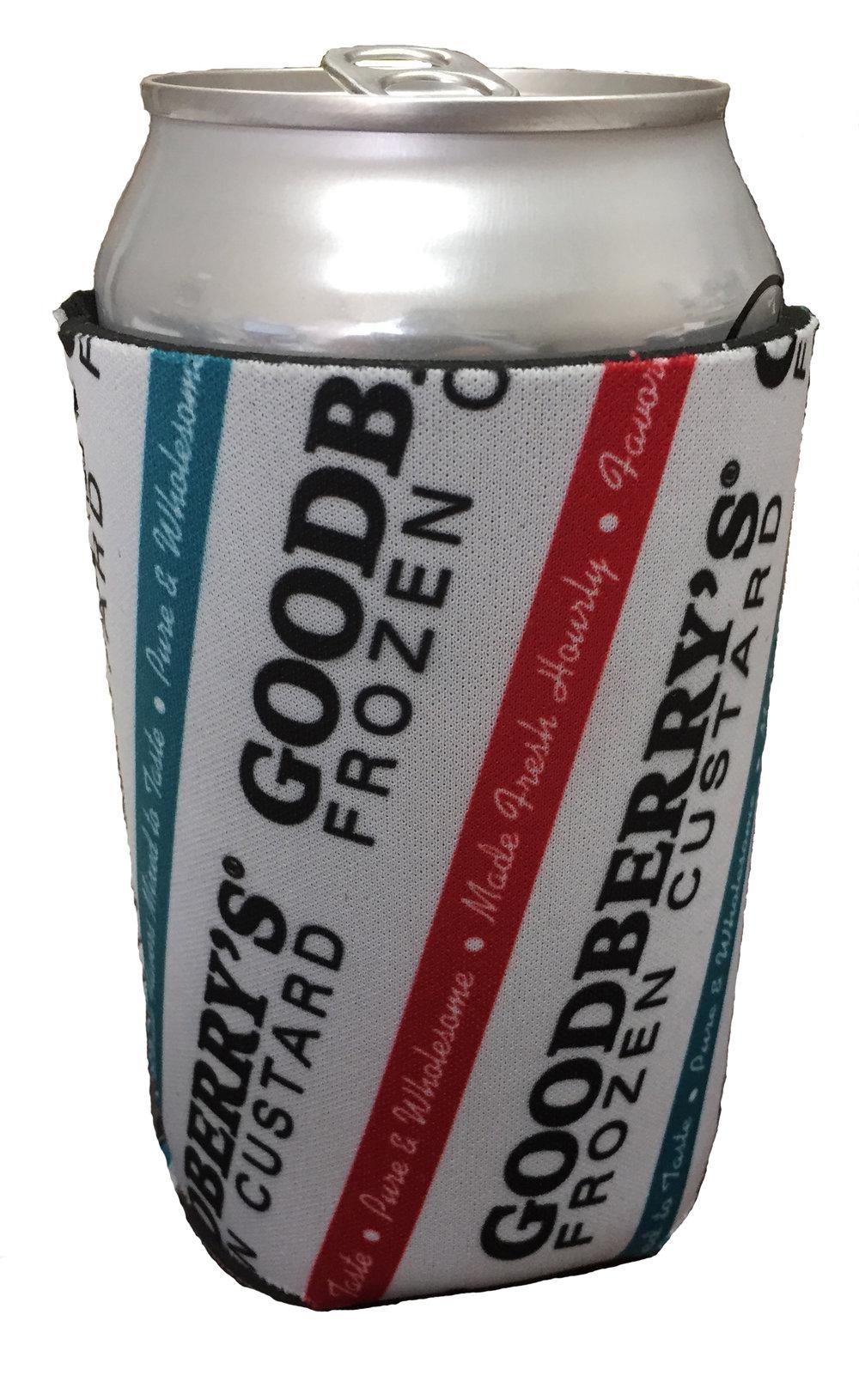 goodberry s can koozie 2 pack goodberry s frozen custard