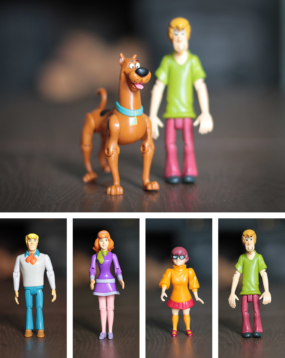 Picked up Scooby Doo and the whole gang today, Scooby, Shaggy, Fred, Daphne and Velma.