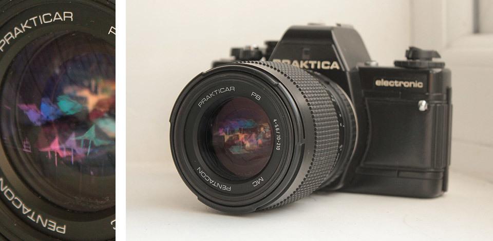 Praktica BMS Electronic with Prakticar PB 4-5.6 / 70 - 210 Lens