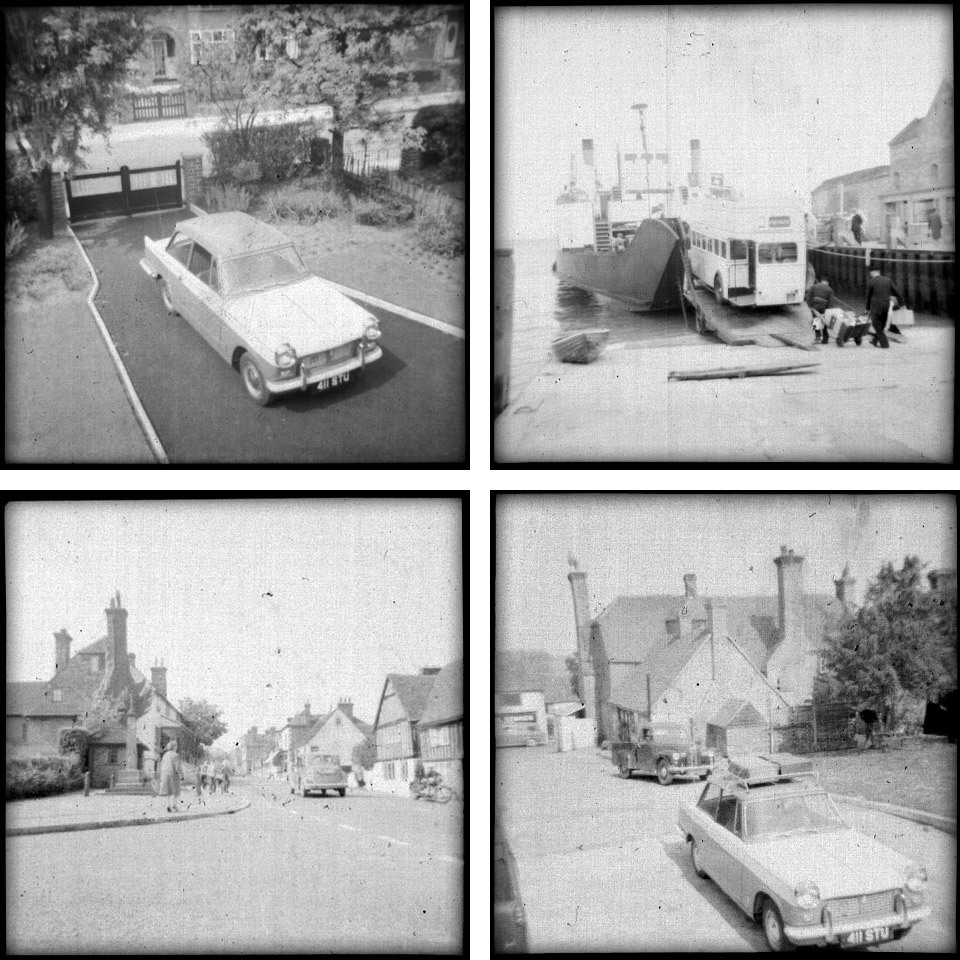 I quite often buy photograph negatives at the car boot sale, that have lost their print counter-parts. It's just another step in the mystery behind the photograph, that you can't discover until you put a bit of effort in. These were scanned in and inverted to see the positive print. I have hundreds more to process - and I might have to invest in a photo / negative -scanner.