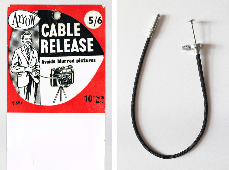 Arrow Camera Cable Release - with original packaging.