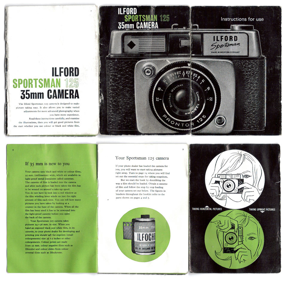 Ilford Sportsman 125 manual