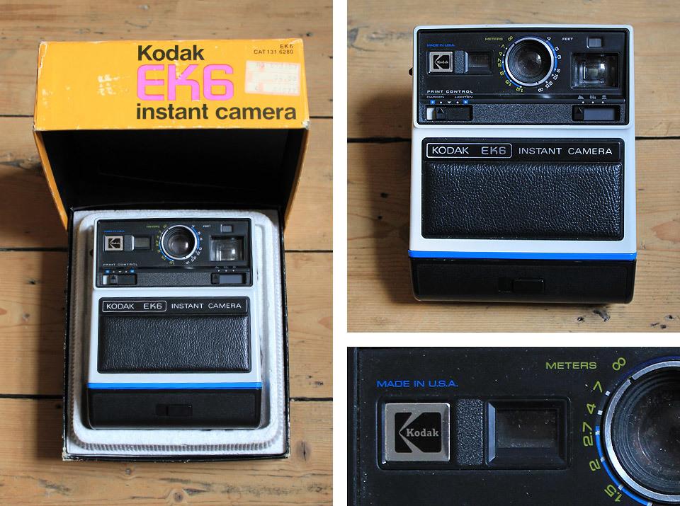 Boxed Kodak EK6 Instant camera