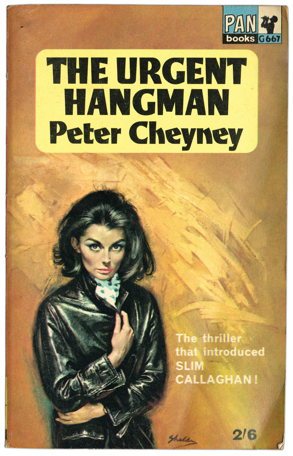 'The Urgent Hangman' by Peter Cheyney.