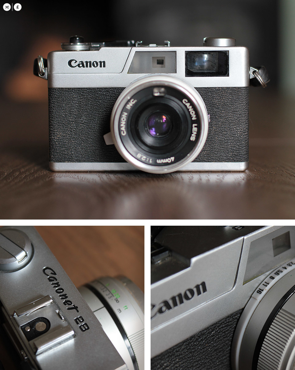 Canon Canonet 28. Available for SWAP | SHOP.