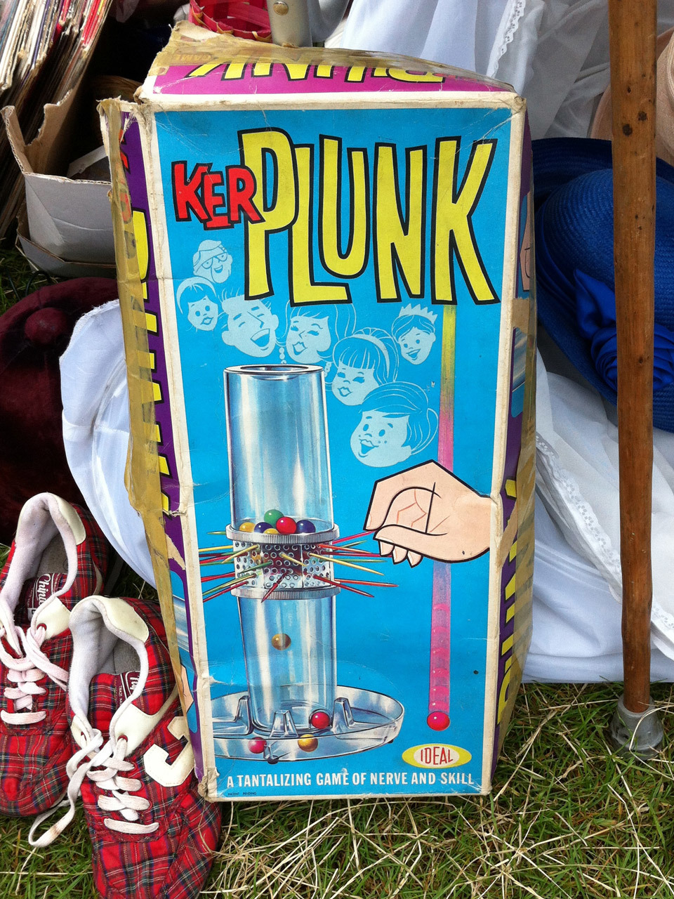 Thing I Didn't Buy At The Car Boot Sale: Kerplunk.
