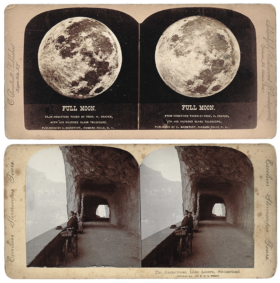 I picked up these wonderful Stereoscopic Cards from the car boot sale. When combined with a viewer, these cards would give a 3D view of the subject, a process called ' Stereoscopy ' from the early 1900's.