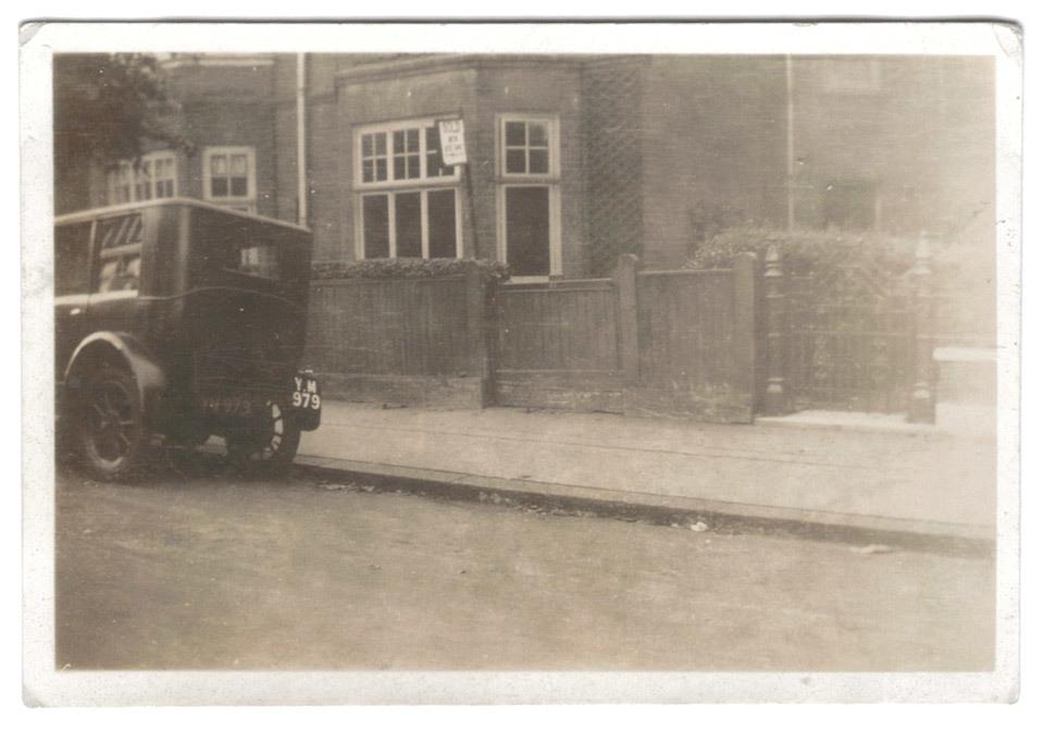 Vintage car photograph.