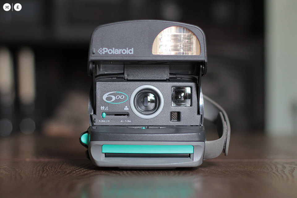 I now have several of the colour button / strap Polaroid 600's (some are called Cool Cam). I bought this Mint coloured one at the car boot sale last weekend and it is available for SWAP | SHOP - so if you want to own it, email with something to swap, or an offer to buy it.