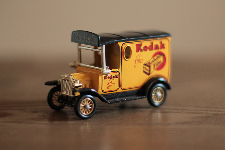 I have been looking for one of these die-cast Kodak Vans for a while now, and I found one in a window display at a charity shop in Northwich yesterday. I also bought a couple of cameras that I will post here.